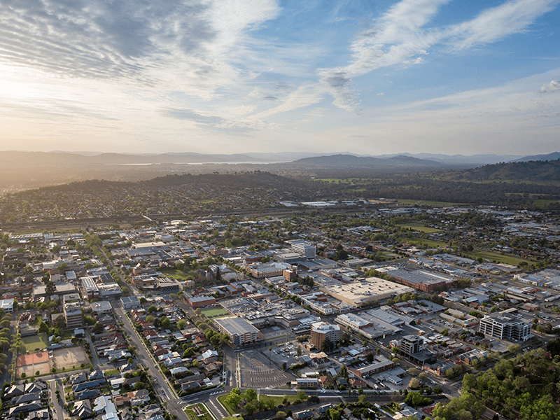 Albury City Aerial