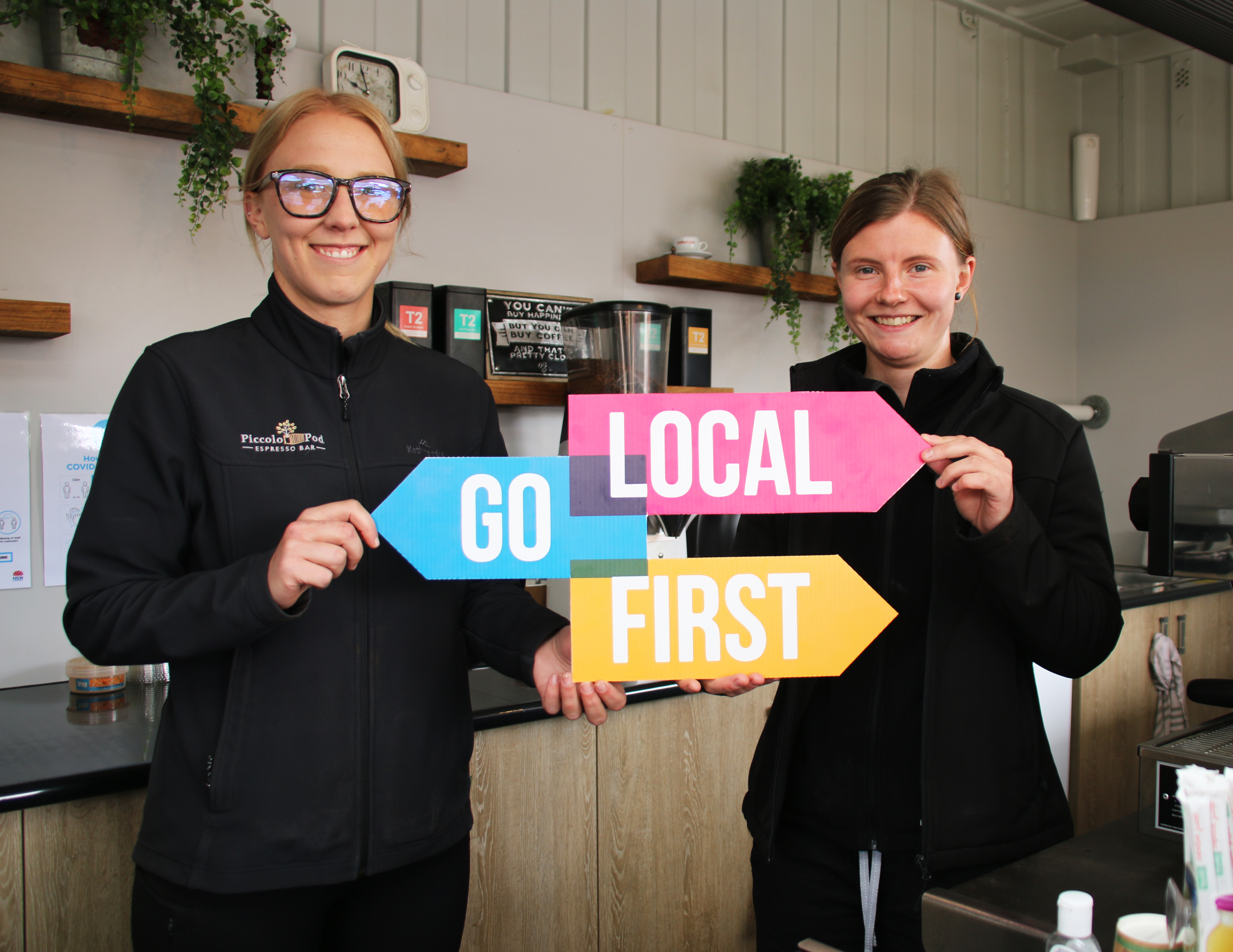 Shoppers urged to support local businesses