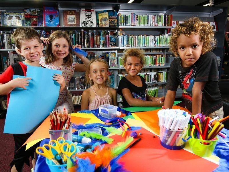 kids with activities