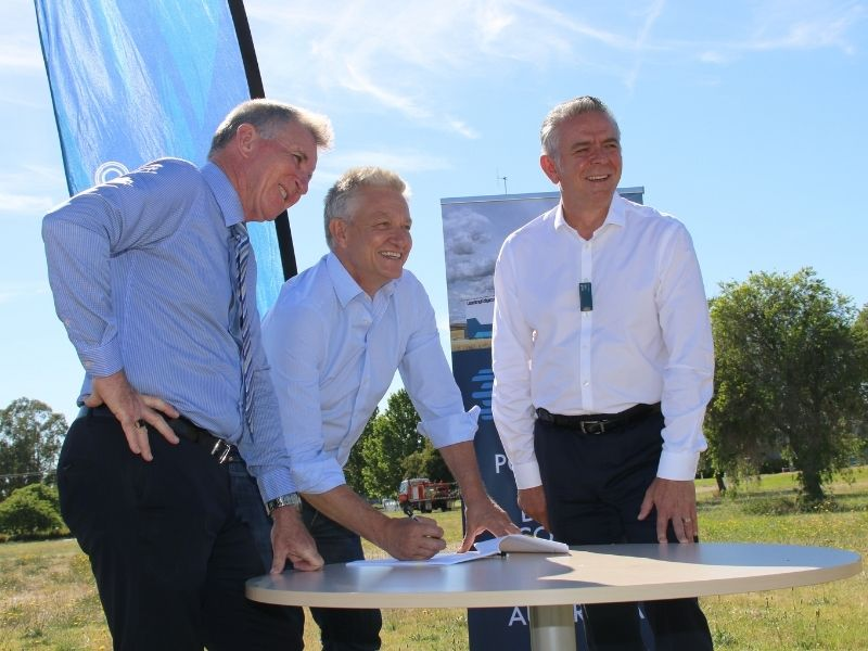 AlburyCity and Leading Edge have signed a lease agreement for a new data centre in the city.