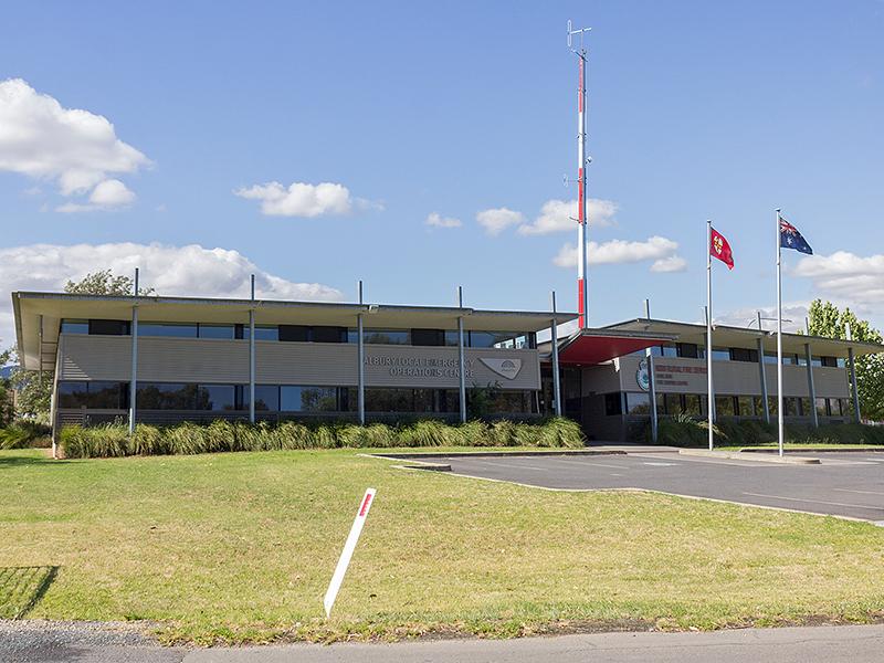 Image of the Albury Emergency Management Centre