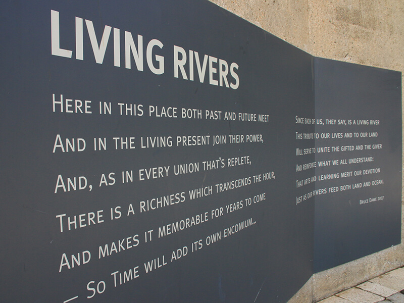 Living Rivers Poem